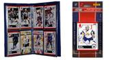 NHL Buffalo Sabres Licensed 2010 Score Team Set and Storage Album