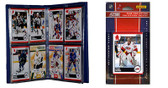 NHL Carolina Hurricanes Licensed 2010 Score Team Set and Storage Album