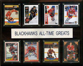 "NHL 12""x15"" Chicago Blackhawks All-Time Greats"