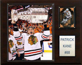 "NHL 12""x15"" Patrick Kane with Stanley Cup Chicago Blackhawks Player Plaque"