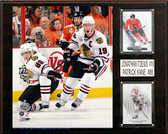 "NHL 12""x15"" Patrick Kane- Jonathan Toews Chicago Blackhawks Player Plaque"