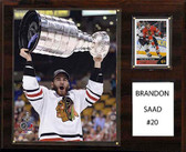 "NHL 12""x15"" Brandon Saad Chicago Blackhawks Player Plaque"