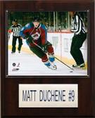 "NHL 12""x15"" Matt Duchene Colorado Avalanche Player Plaque"