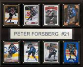"NHL 12""x15"" Peter Forsberg Colorado Avalanche 8-Card Plaque"