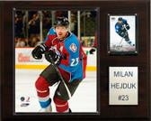 "NHL 12""x15"" Milan Hejduk Colorado Avalanche Player Plaque"