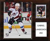"NHL 12""x15"" Gabriel Landeskog Colorado Avalanche Player Plaque"