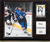 "NHL 12""x15"" Paul Stastny Colorado Avalanche Player Plaque"