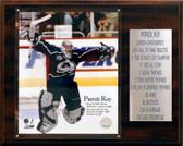 "NHL 12""x15"" Patrick Roy Colorado Avalanche Career Stat Plaque"