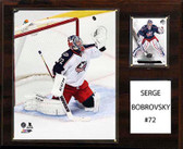 "NHL 12""x15"" Sergei Bobrovsky Columbus Blue Jackets Player Plaque"