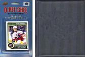 NHL Columbus Blue Jackets 2014 O-Pee-Chee Team Set and a storage album