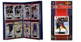 NHL Columbus Blue Jackets Licensed 2010 Score Team Set and Storage Album