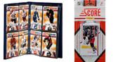 NHL Columbus Blue Jackets Licensed 2011 Score Team Set and Storage Album