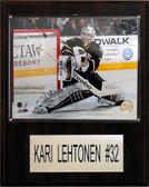 "NHL 12""x15"" Kari Lehtonen Dallas Stars Player Plaque"
