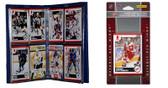 NHL Detroit Red Wings Licensed 2010 Score Team Set and Storage Album