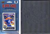 NHL Edmonton Oilers 2014 O-Pee-Chee Team Set and a storage album