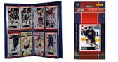 NHL Edmonton Oilers Licensed 2010 Score Team Set and Storage Album
