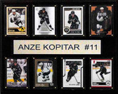 "NHL 12""x15"" Anze Kopitar Los Angeles Kings 8-Card Plaque"