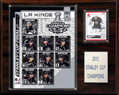 """NHL 12""""x15"""" Los Angeles Kings 2012 Stanley Cup Champions Plaque"""