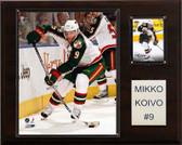 "NHL 12""x15"" Mikko Koivu Minnesota Wild Player Plaque"