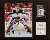 "NHL 12""x15"" Niklas Backstrom Minnesota Wild Player Plaque"