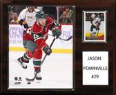 "NHL 12""x15"" Jason Pominville Minnesota Wild Player Plaque"