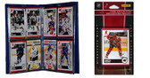 NHL Minnesota Wild Licensed 2010 Score Team Set and Storage Album