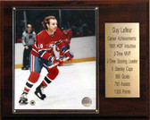 "NHL 12""x15"" Guy Lafleur Montreal Canadiens Career Stat Plaque"