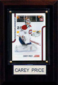 "NHL 4""x6"" Carey Price Montreal Canadiens Player Plaque"