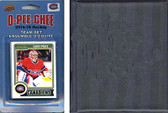 NHL Montreal Canadiens 2014 O-Pee-Chee Team Set and a storage album
