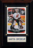"NHL 4""x6"" Martin Brodeur New Jersey Devils Player Plaque"