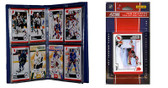 NHL New Jersey Devils Licensed 2010 Score Team Set and Storage Album
