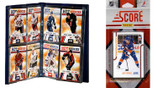 NHL New York Islanders Licensed 2011 Score Team Set and Storage Album