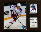 "NHL 12""x15"" Brandon Dubinsky New York Rangers Player Plaque"
