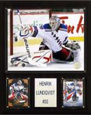 "NHL 12""x15"" Henrik Lundqvist New York Rangers Player Plaque"
