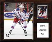 "NHL 12""x15"" Chris Kreider New York Rangers Player Plaque"