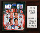 """NHL 12""""x15"""" Core Four New York Rangers Player Plaque"""