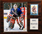 """NHL 12""""x15"""" Mike Richter New York Rangers Player Plaque"""