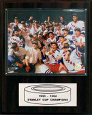 """NHL 12""""x15"""" New York Rangers 1994 Stanley Cup Champions Plaque"""