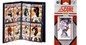 NHL New York Rangers Licensed 2011 Score Team Set and Storage Album