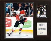 "NHL 12""x15"" Scott Hartnell Philadelphia Flyers Player Plaque"