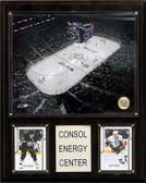 """NHL 12""""x15"""" Consol Energy Center Arena Plaque"""