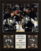 "NHL 12""x15"" Crosby-Malkin Pittsburgh Penguins Player Plaque"