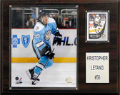 "NHL 12""x15"" Kris Letang Pittsburgh Penguins Player Plaque"