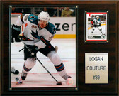 "NHL 12""x15"" Logan Couture San Jose Sharks Player Plaque"