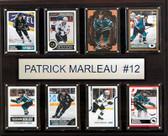 "NHL 12""x15"" Patrick Marleau San Jose Sharks 8-Card Plaque"