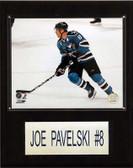 "NHL 12""x15"" Joe Pavelski San Jose Sharks Player Plaque"