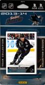 NHL San Jose Sharks 2013 Score Team Set