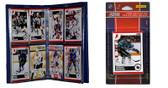NHL San Jose Sharks Licensed 2010 Score Team Set and Storage Album