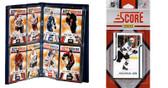 NHL San Jose Sharks Licensed 2011 Score Team Set and Storage Album