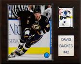 "NHL 12""x15"" David Backes St. Louis Blues Player Plaque"